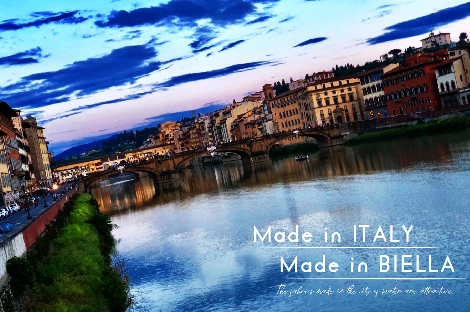 Made in ITALY Made in BIELLA